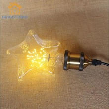 LED Blub lamp night light Edison blubs E27 lights star power holiday wedding Bar resturant decoration