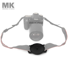Meking Universal Lens Cap Keeper Camera Buckle Lens Cover Holder for Canon Nikon 72mm 77mm 82mm