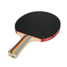 Professional 1Pcs Table Tennis Racket Rubber Sports Ping Pong Peddle Racket Double Face Table Tennis Racket Bat with Case Pouch(China)