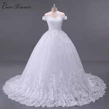 C.V Arabic Luxury Lace Ball Gown Short Sleeve Wedding Dress 2017 Gelinlik Sheer Back Princess Illusion Bridal Gown W0032