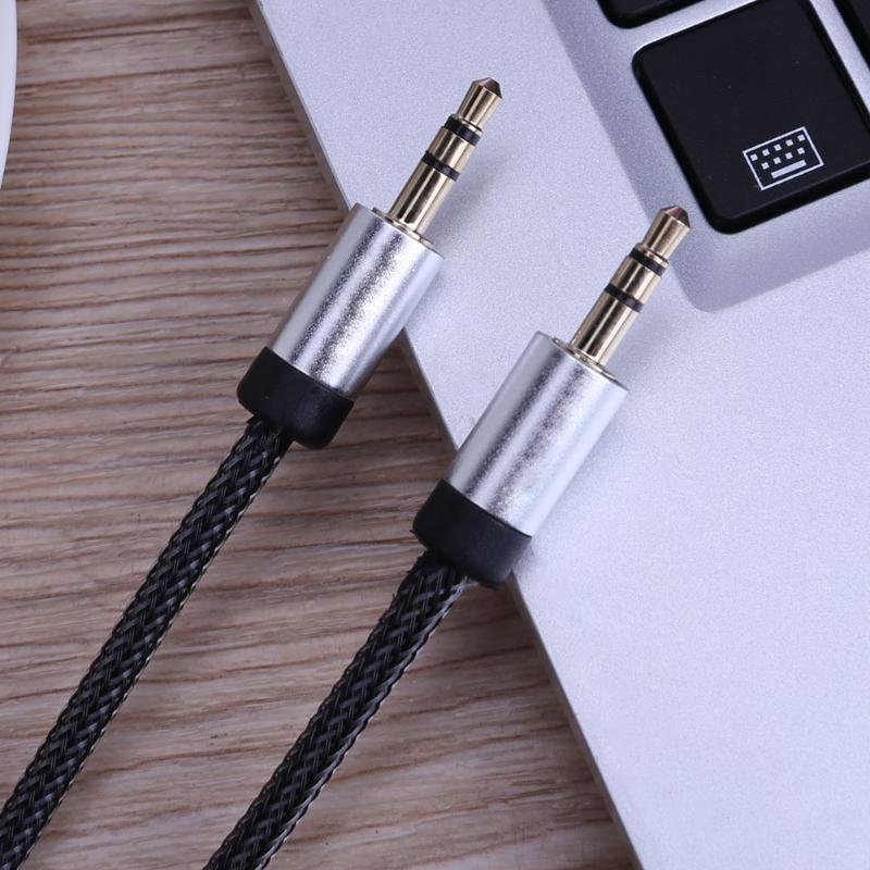 0.5m Gold Plated Connector 3.5mm Audio Cable Jack Aux Cable for iPhone Car Headphone Beats Speaker Aux Cord MP3/4