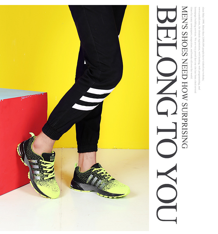 JYRhenium Sneakers Shoes Men Running Shoes 17 Lovers Outdoor Men Sneakers Sports Breathable Trainers Jogging Walking Shoes 29