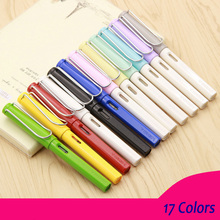 11 Colors Fountain Pen Yiren 359 Series Medium 0.5mm Nib pen replace ink student Calligraphy Fashion Business