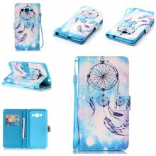 12 Patterns Flip Case for Samsung Grand Prime G530 Painting Leather Cover for Samsung Galaxy Grand Prime Case Coque Fundas Capa