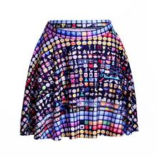 New Hot Lovely Face Women Sexy Pleated Skirts Tennis Bowling Bust Shorts Skirts Popular Girls Fitness Sports Apparel A Style