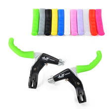 universal MTB mountain bike brake lever grip case silicone lever protector for SHIMANO SRAM Giant Merida bike part(China)