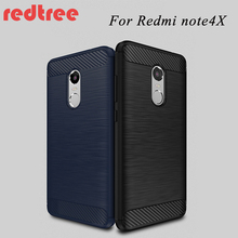 Xiaomi Redmi Note 4X case Luxury Soft silicone PU Protective back cover for xiomi xiaomi redmi note4x Moblie phone shell cases(China)