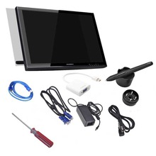 Huion 18.95 inch Digital Graphic Interactive LCD Monitor Touch Screen  Panel Display GT190A With Mini Displayport to VGA adapter