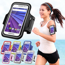 Running Sport Gym Armband Bag Case For Moto X Style/G4 G4 Plus/X play/X Force/X2/XT1254 Jogging Arm Band Mobile Phone Belt Cover