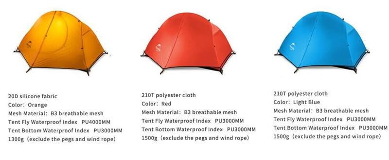 camping tent LSNH18A095-D color