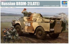 Trumpet 05512 1:35 Russian BRDM-2 armored reconnaissance vehicle (late type) Assembly model(China)