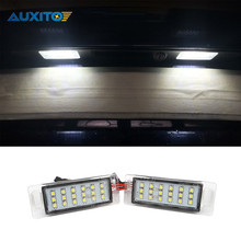 2PCS 18LED 3528SMD License Plate Light Lamp LED Number Plate Light For Chevrolet Cruze 2009-2014 Camaro 2010-2013
