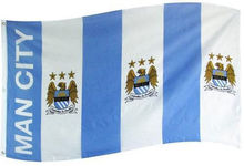 MAN CITY FLAG MCFC 5' x 3' Official Manchester Football Soccer Large Indoor Outdoor Flag 3' x 5' Banner metal holes Custom Flag(China)