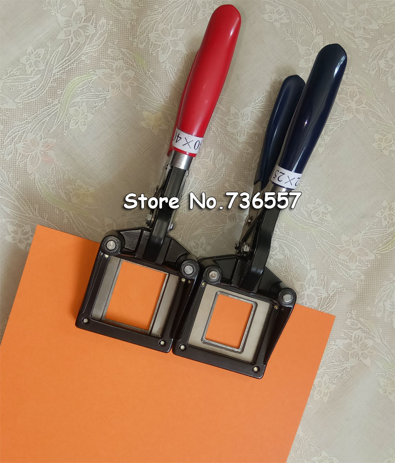 Hand-type Photo Cutter,ID Picture Cutter,Id Card Cutter,35x45mm Round Corner Right Angle Color<br>