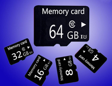 Micro TF card memory 128mb 1gb 2gb 4GB/8GB/16GB/32GB/64GB/ 64gb class 6 / 10 for cellphones tablet TF card memory card BT2(China)