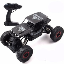 1:18 2.4GHZ 2WD Remote Control Vehicle Drift RC Cars High Speed Racing Cars Rock Crawler Off Road Truck Kids Toys Charge Battery