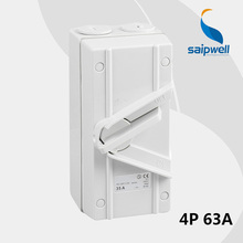 Exquisite DC Isolator Switch / Industrial Use Electrical Disconnector Switch(SGN4-003GL) 4P 63A (SP-4P63A)