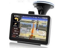 "Best 5"" Touch screen car GPS navigator+ 4GB built in memory +128RAM+800MHZ FREE MAP FM transitter Free map(Hong Kong)"