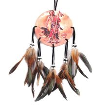 Indian Oil Painting Character/Horse Dream Catcher With Pattern Of Horse/Character