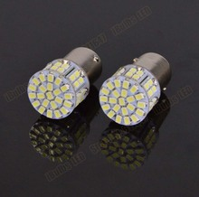 2PCS Hight Quality 1156 3020 SMD 50 Led Car Light BAY15D P21W Auto Light Bulb Lamps Car Styling 50Led 50Smd DC12V