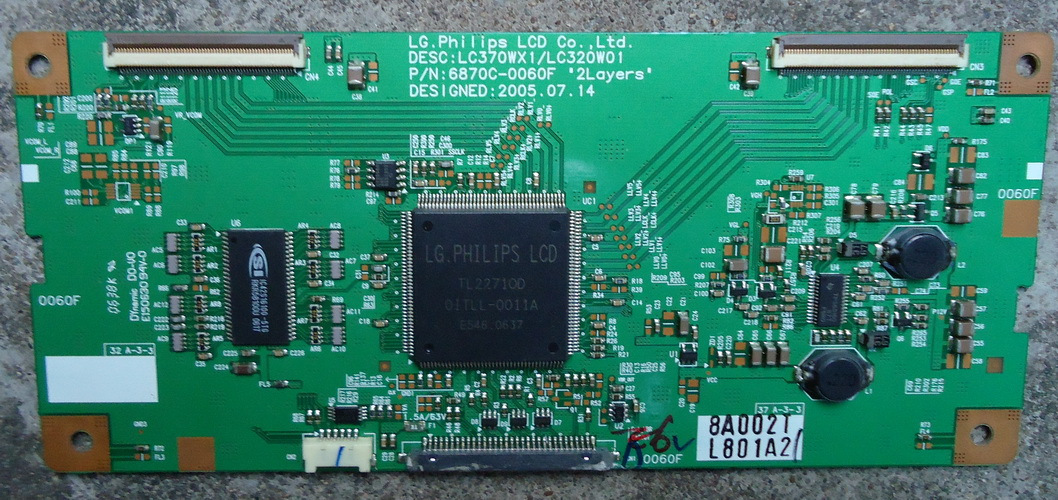 FOR  Prima LC-37K7 LC-37T7 LC-37T25 logic board LC370WX1 / LC320W01 is used<br>