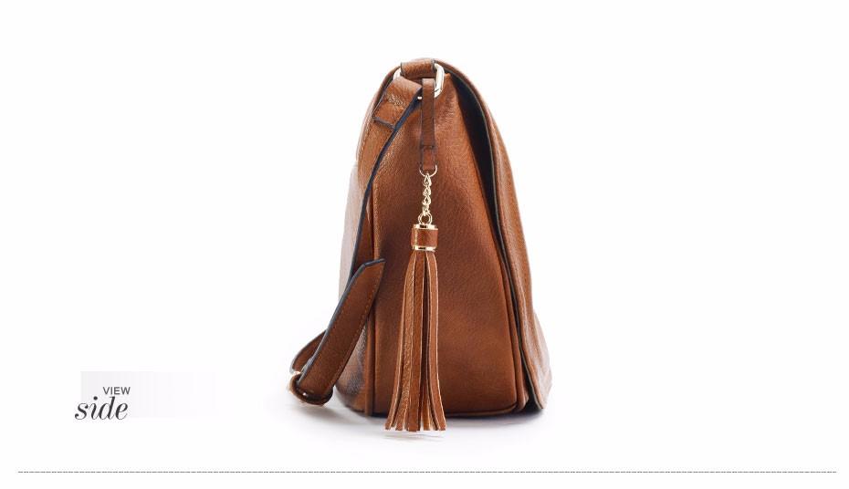 AMELIE GALANTI casual crossbody bag soft cover solid saddle fashion women messenger bags high quality shoulder bag for women (11)