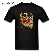 SLAYER Band Eagle Logo Man TShirt Cotton Jersey Tee Shirt Homme O-Neck Fitness T-Shirt Men Short Sleeve Hip Hop Brand Clothing(China)