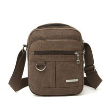 MOJOYCE Brand Thick Canvas Bag High Quality Men Messenger Bags Fashion Shoulder Bags Brand Men Bag(China)