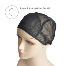 Glueless Lace Wig Cap For Making Wigs With Adjustable Band For Custom Size Weaving Net Customise Youself Style