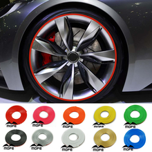 SPECIAL OFFER Car Auto Wheel Rim Protectors / Rings / Alloy Gators Green Pink Red Orange Blue Black Silver Yellow White Gold(China)