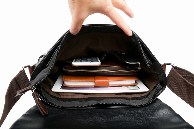 MJ Men\`s Bags Vintage PU Leather Male Messenger Bag High Quality Leather Crossbody Flap Bag Versatile Shoulder Handbag for Men (31)