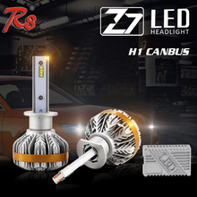 R8 2017 New Arrival Car Canbus LED Headlight Kit Z7 High Power 50W 6000LM H1 H3 880 881 Bulb Easy Installation Premium Quality(China)