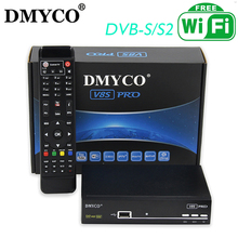 2018 New arrival Spain DMYCO V8S PRO DVB-S2 Satellite Receiver Decoder Support 1080P Full HD powervu Clines bisskey free ship(China)