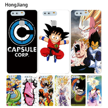 HongJiang GOKU Dragon Ball super Cover phone Case for huawei Ascend P7 P8 P9 P10 lite plus G8 G7 honor 5C 2017(China)