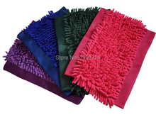 FREE SHIPPING! Chenille mop cloth super absorbent - replacement cloth - flat mop cloth - mop head - mop(China)