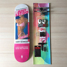 GIRL Skate Deck Blank Trucks PIG Wheels Element Bearings Skateboard Complete Set Plus Hardware Set Riser Pad & Installing Tool