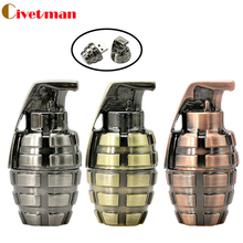 Mini metal retro hand grenade USB Flash drive 64gb usb 2.0 pen drive 16GB flash memory stick u Disk pen drive 32gb pendriver(China)