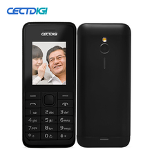 Cectdigi 2016 Cheapest Unlocked Dual Sim Cell Phone Mini 230 Russian Keyboard Long Standby Bar Phone for Old Man FM Flash Light