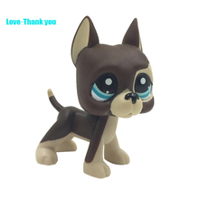 Cute LPS figure kids Collection toy dog GREAT DANE #817 Children's gifts