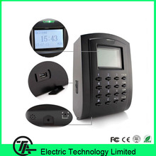 ZK 125khz RFID card and keyboard access control and time attendance device door security access control systems SC103(Hong Kong)