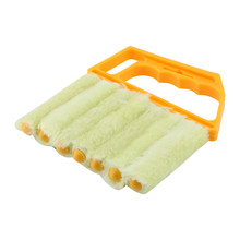 Useful Microfiber Window Cleaning Brush Air Conditioner Duster Cleaner with Washable Venetian Blind Brush Clean Cleaner(China)