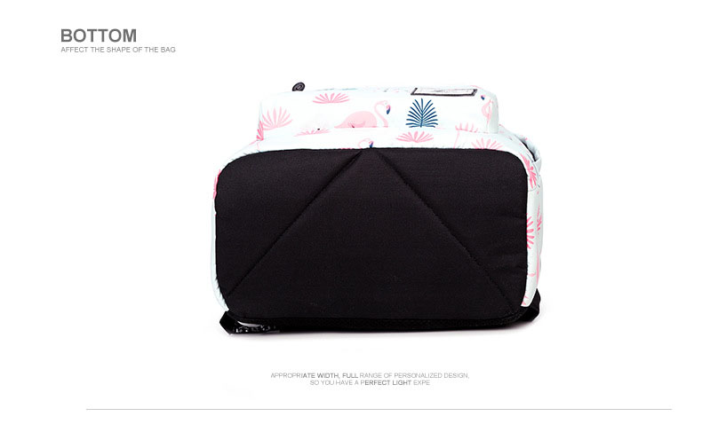 WINNER Fashion Backpack Flamingos Cute School Bags For Adolescent Girls Travel Rucksacks Laptop Mochilas Mujer 2018 (18)