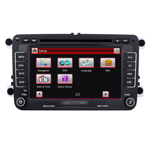 Aftermarket 7 inch 2 Din Universal Radio DVD Player GPS Navigation Car Stereo for 2004-2013 Seat Toledo Bluetooth SD Aux IPOD