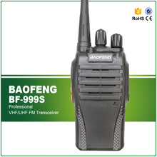 Hot Sell 5W Baofeng 999S UHF Two Way Radio Black 400-470MHZ Cheap Walkie Talkie