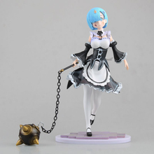 Re:Life in a different world from Zero Servant Girl Rem Action Figure Bola Battle Damaged Ver. Rem PVC figure Toy Brinquedos22CM(China)