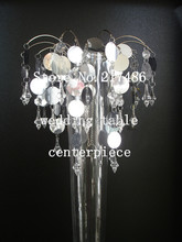 crystal table top chandelier centerpieces for weddings decoration no the flower vase including