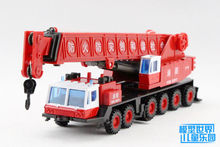 Gift for baby 1pc 28cm JOYCITY engineering van crane fire fighting police derrick car model collection boy children toy