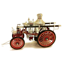 1:32 1886 american fire engine Retro classic cars model Classic collection car model