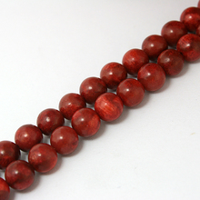 Free Shipping 15'' 8mm Round Natural Coral Loose Spacer Beads Red Colour for Jewelry BTA035
