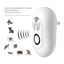 New Smart Mosquito Killer Electronic Multi-Purpose Ultrasonic Pest Repeller Reject Rat Mouse Repellent Anti Rodent Bug Reject(China)